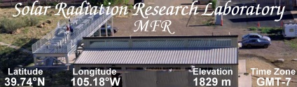 Solar Radiation Research Laboratory (YES MFR)