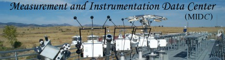 Measurement and Instrumentation Data Center (MIDC)