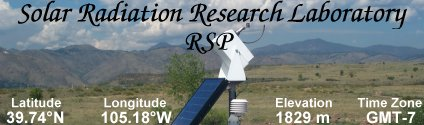 Solar Radiation Research Laboratory (RSP)